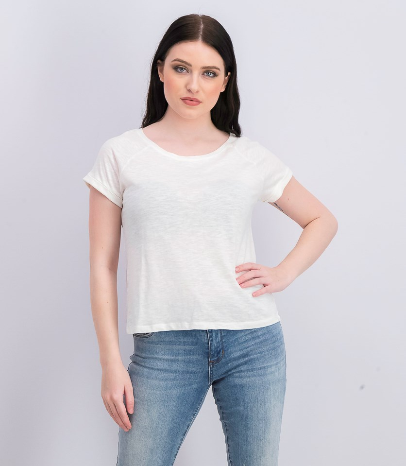 Women's Plain Top, Ivory
