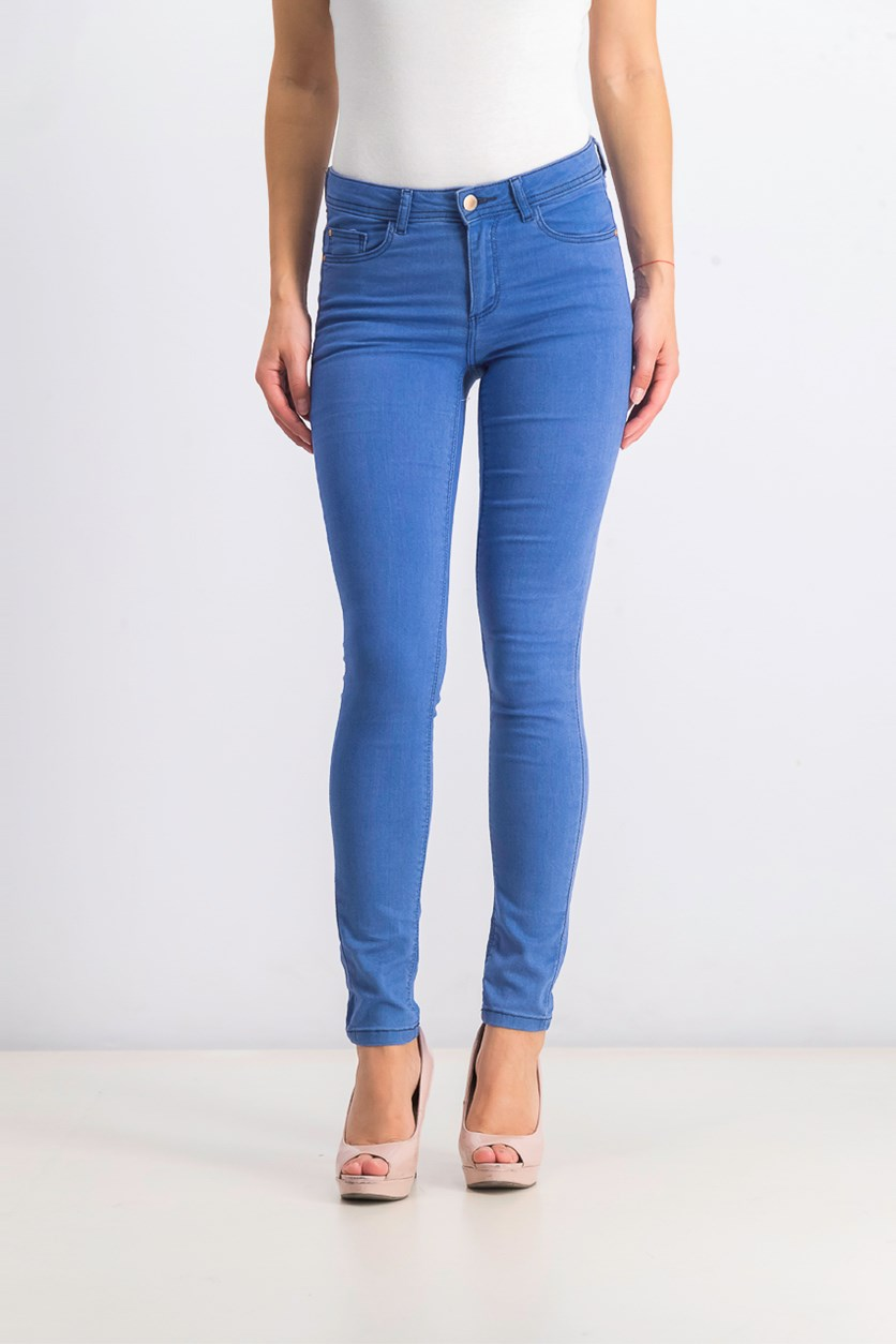 Women's Regular Skinny Jeans, Blue