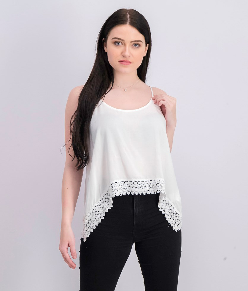 Womens Pullover Top, White