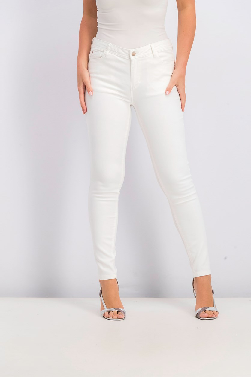 Women's Push Up Jeans, Off White