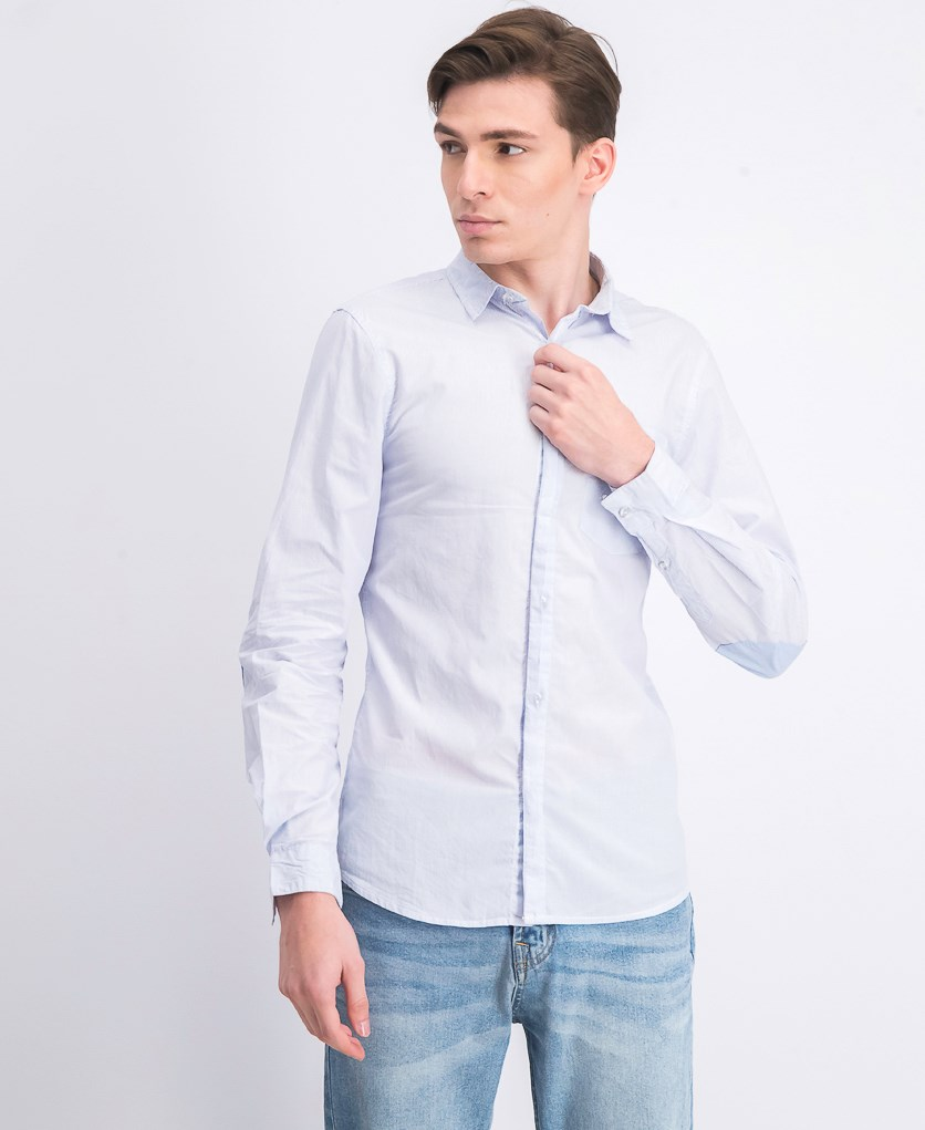 Men's Long Sleeve Shirt, Blue