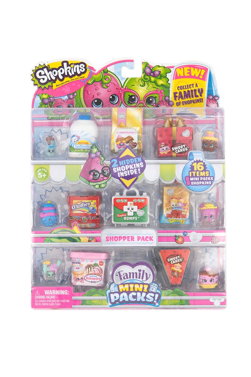 Family Mini Shopper Collector Packs, Pink/White Combo
