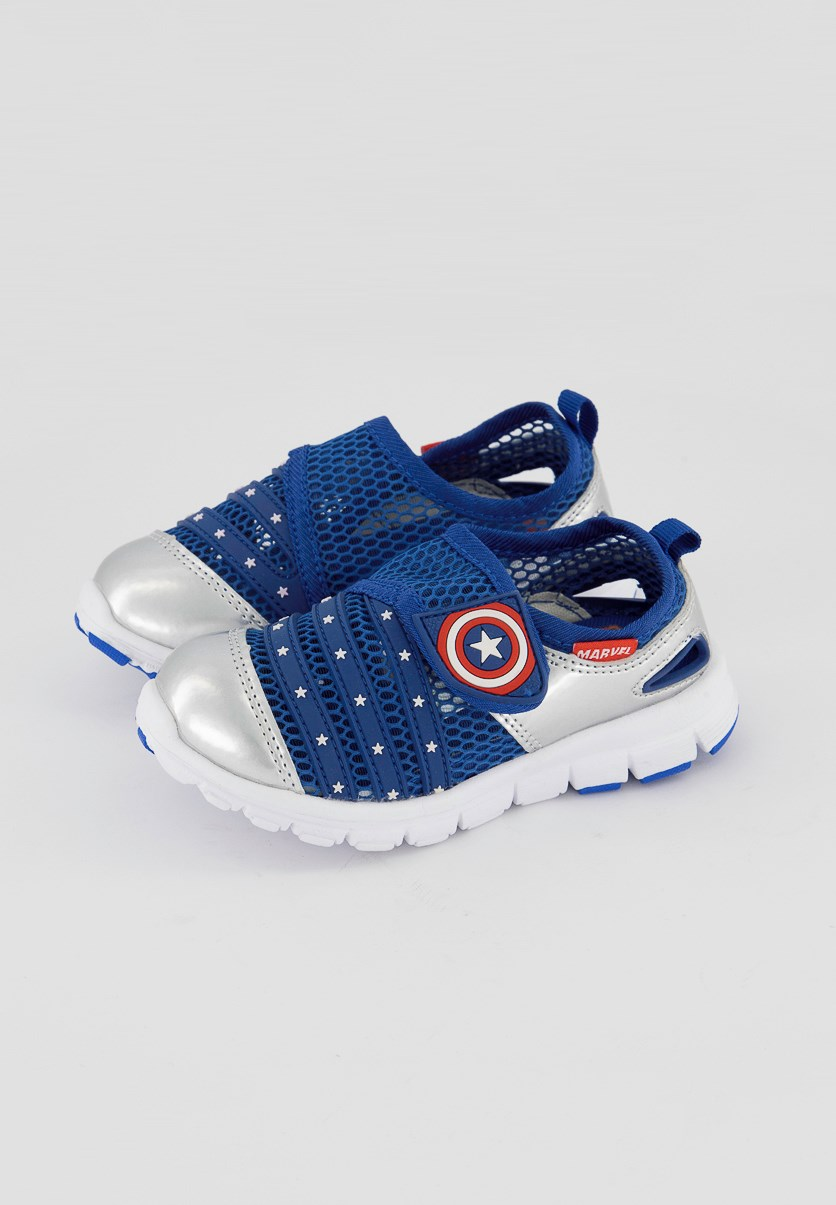 Todllers Boys' Avengers Casual Shoes, Navy Combo