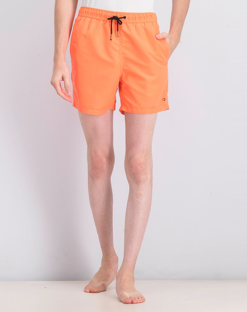 Men's Pull On Short, Orange