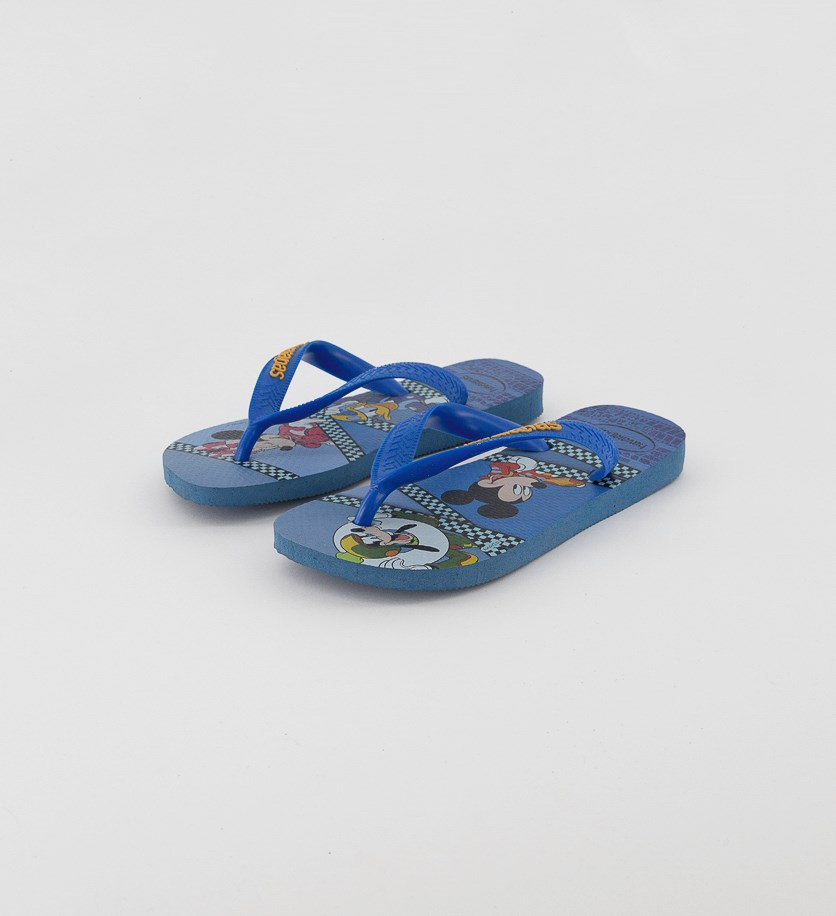 Kids Boy's Mickey Roadster Racers  Flip Flop, Blue