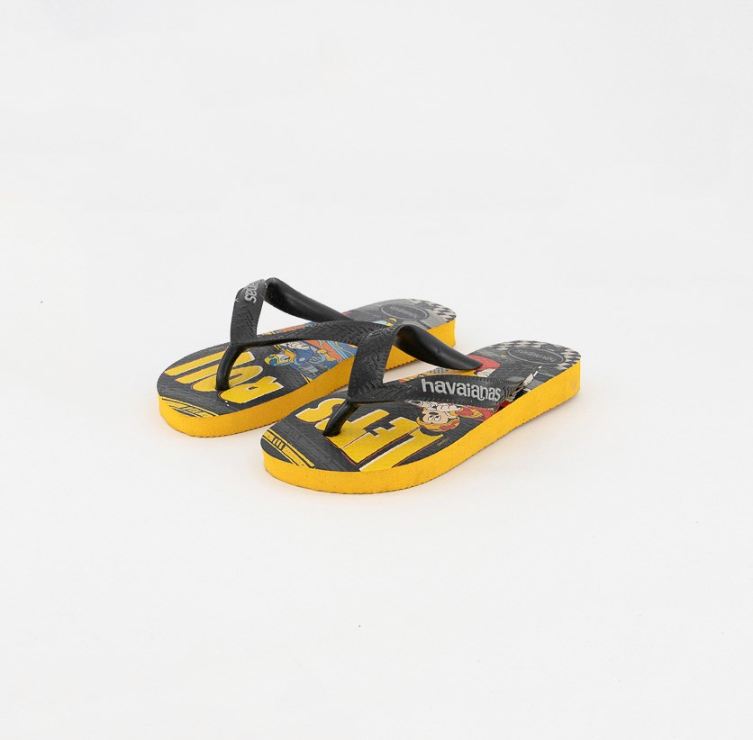 Toddler Boys' Mickey Roadster Racers Slippers, Yellow Combo