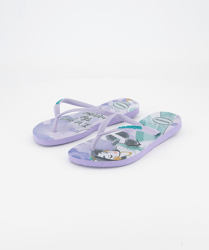 Kids Girls Slim Princess Slipper, Lavender