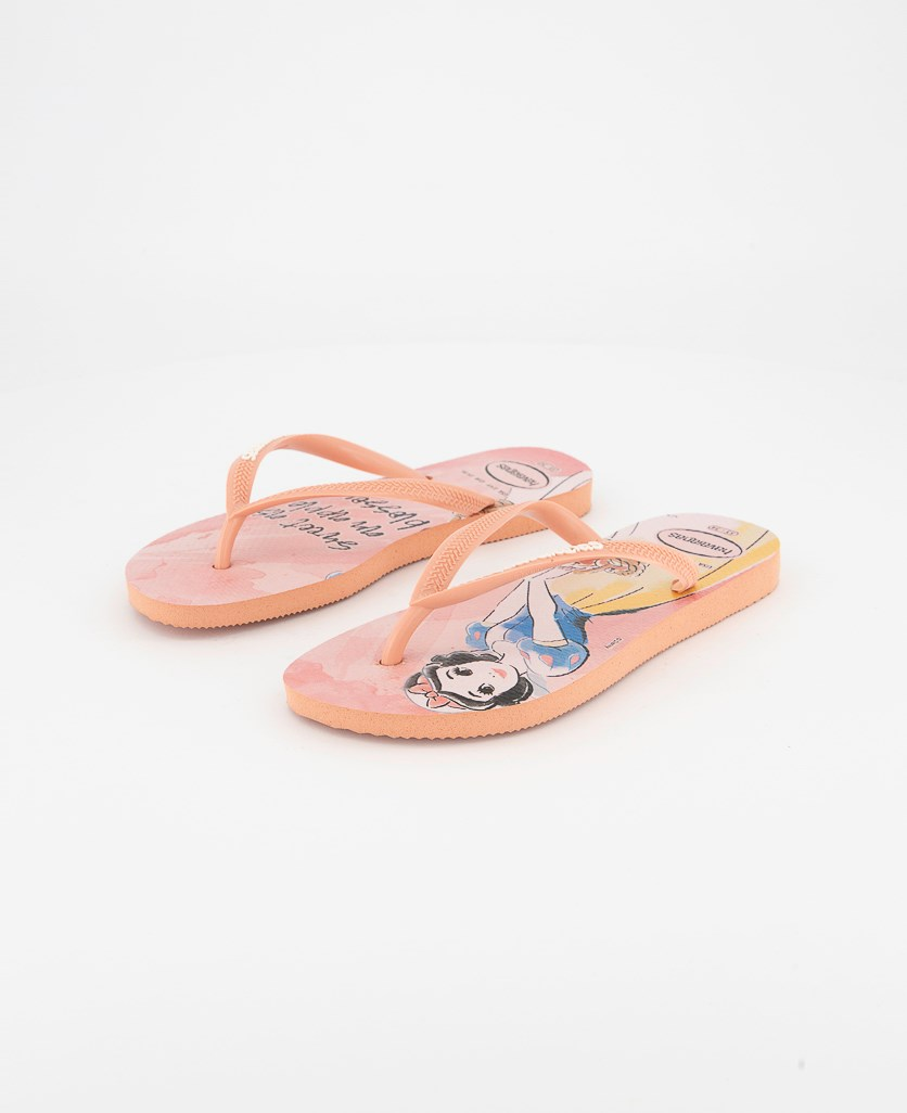Kids Girls Slim Princess Slipper, Rose Nude