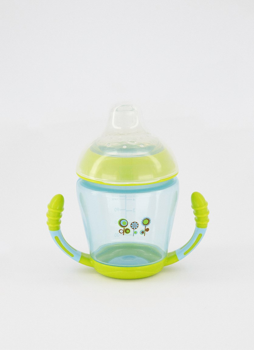 Trainer Cup With Silicone Spout, Blue/Green