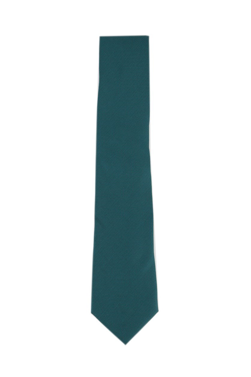 Oxford Solid Tie, Green