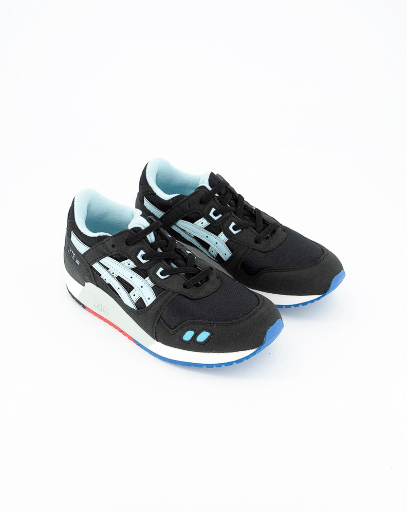 Kids Girls Gel Lyte III PS Sneakers, Black