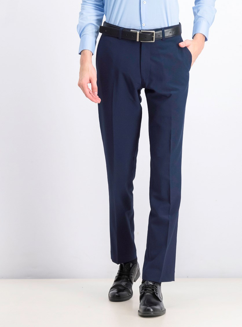Men's Plain Pants, Navy