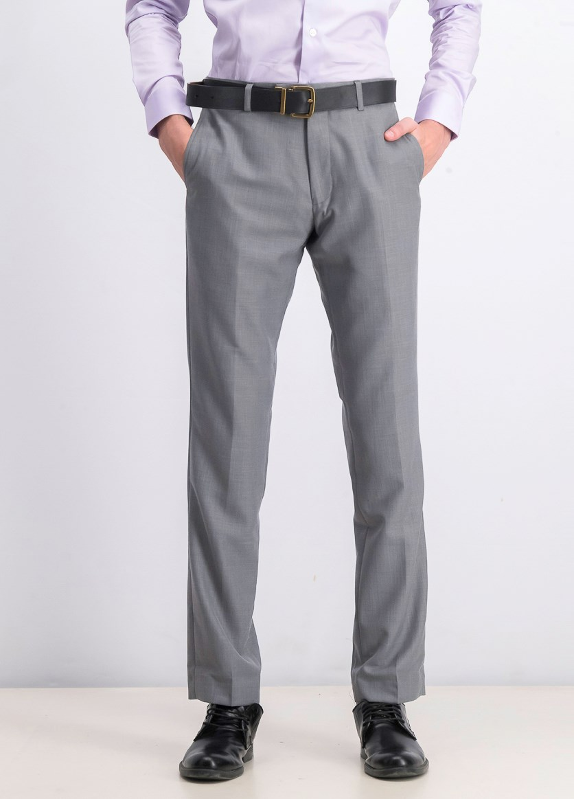 Mens Jasper Dress Pants, Silver
