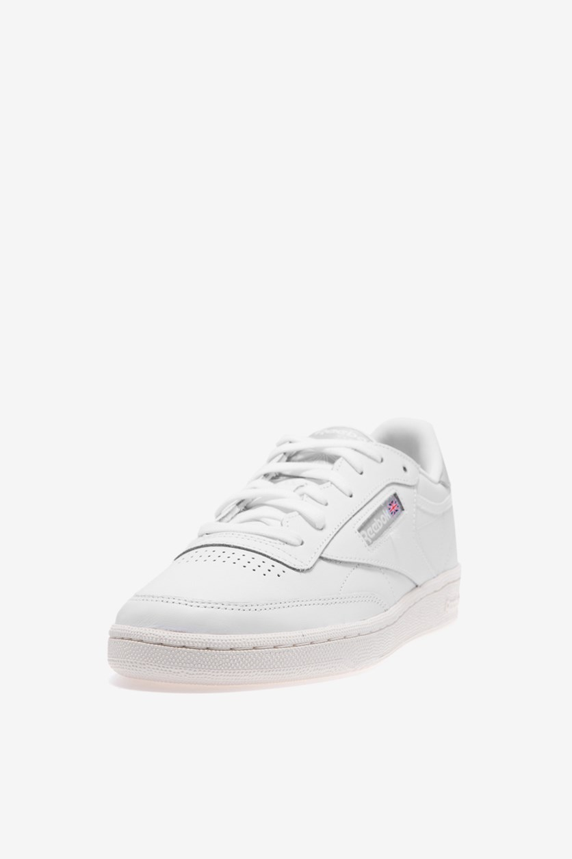 Women's Club C85 Shoes, White/Skull Grey/Chalk