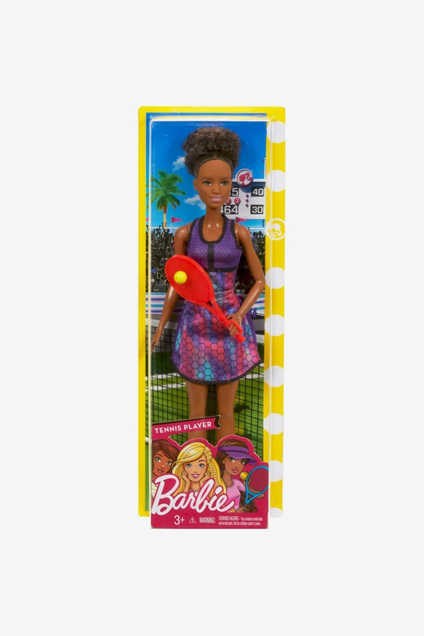 Mattel Tennis Player, Brown