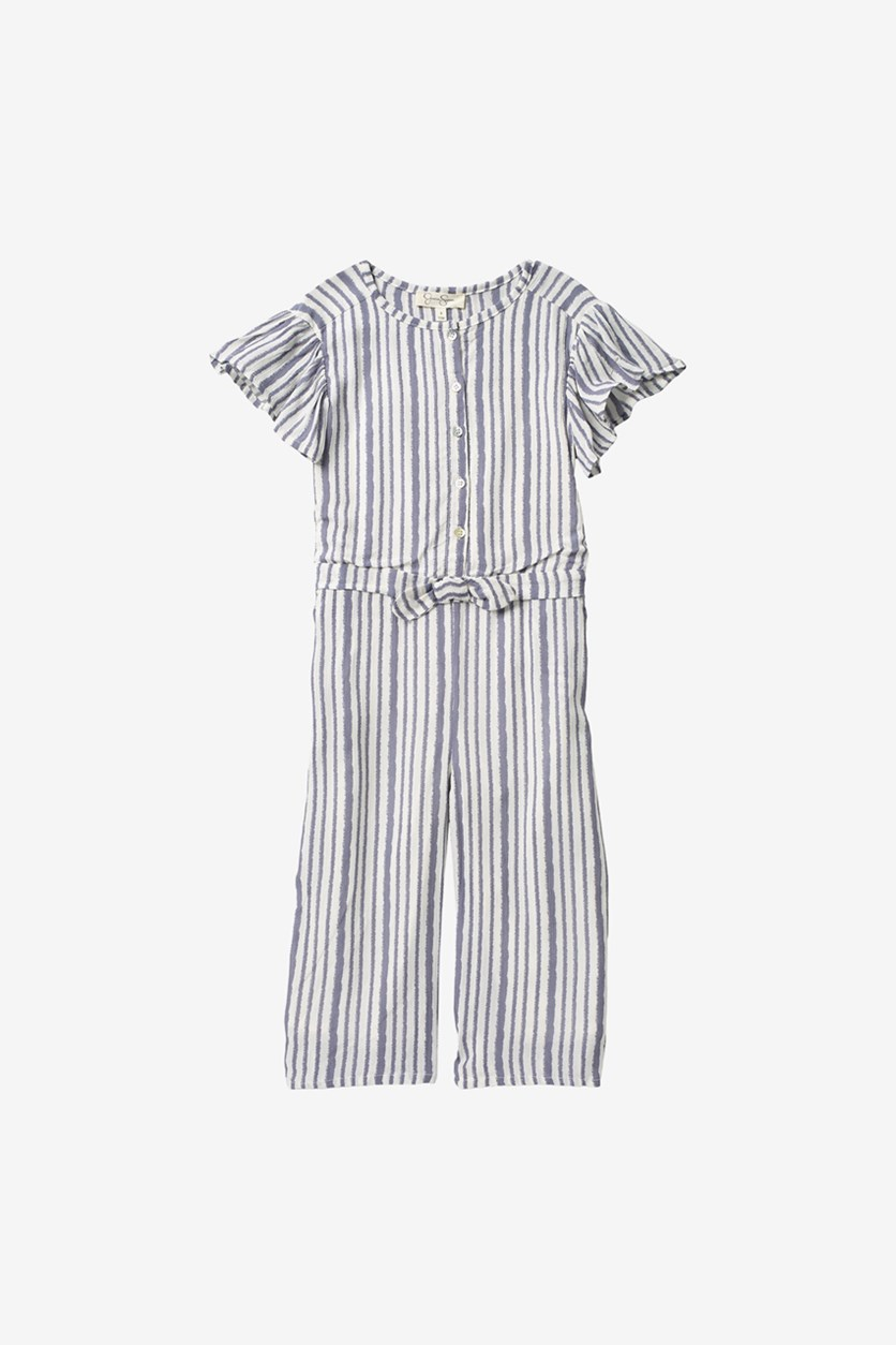 Kids Girl's Striped Romper, Quiksilver Stripe