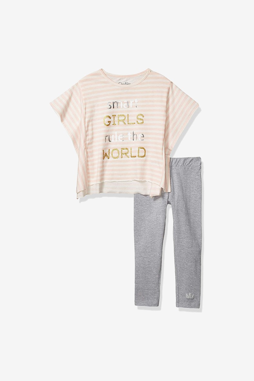 Girls' Little 2 Piece Set, English Rose