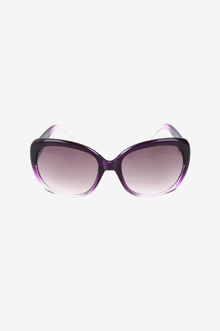 Girl's Colorblock Sunglasses, Purple