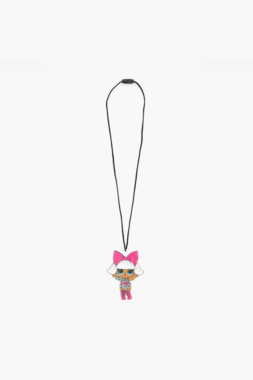 Light-Up Lanyard Doll, White