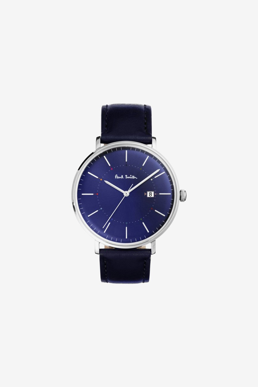 Men's P10080 Watch, Navy
