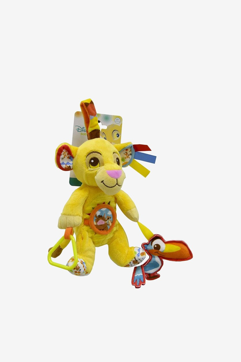 Activity Plush Toy by Disney Plush Toys, Yellow Combo