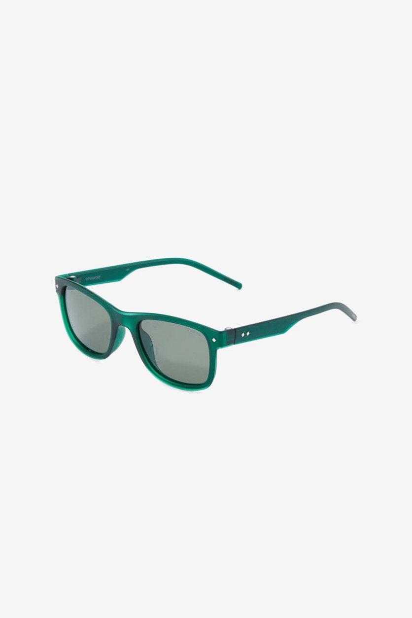 Kids Boys Ultra Light Polarized Lens, Green