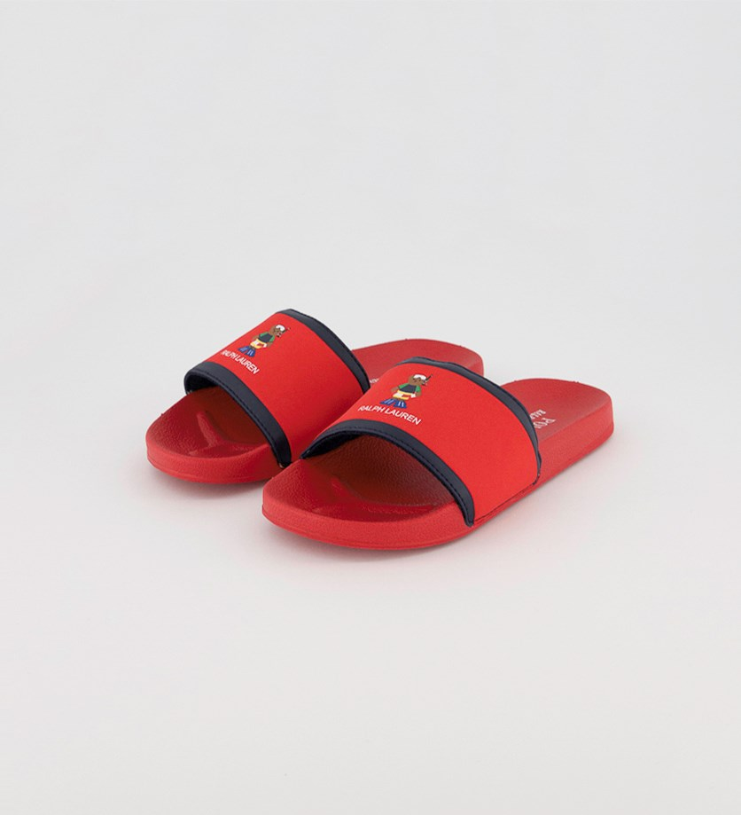 Boy's Chadwick Slippers, Red