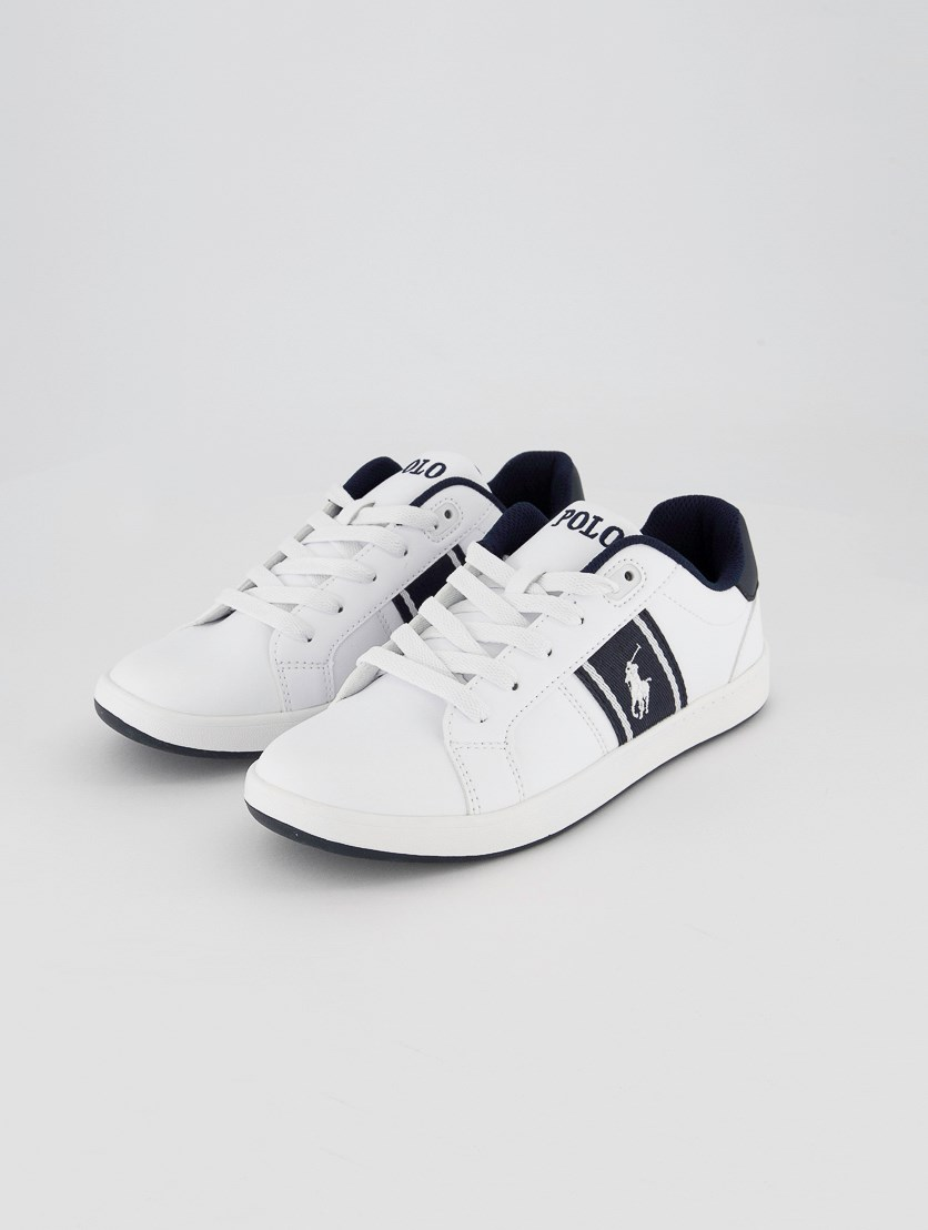 Boy's Quigley Casual Shoes, Navy/White