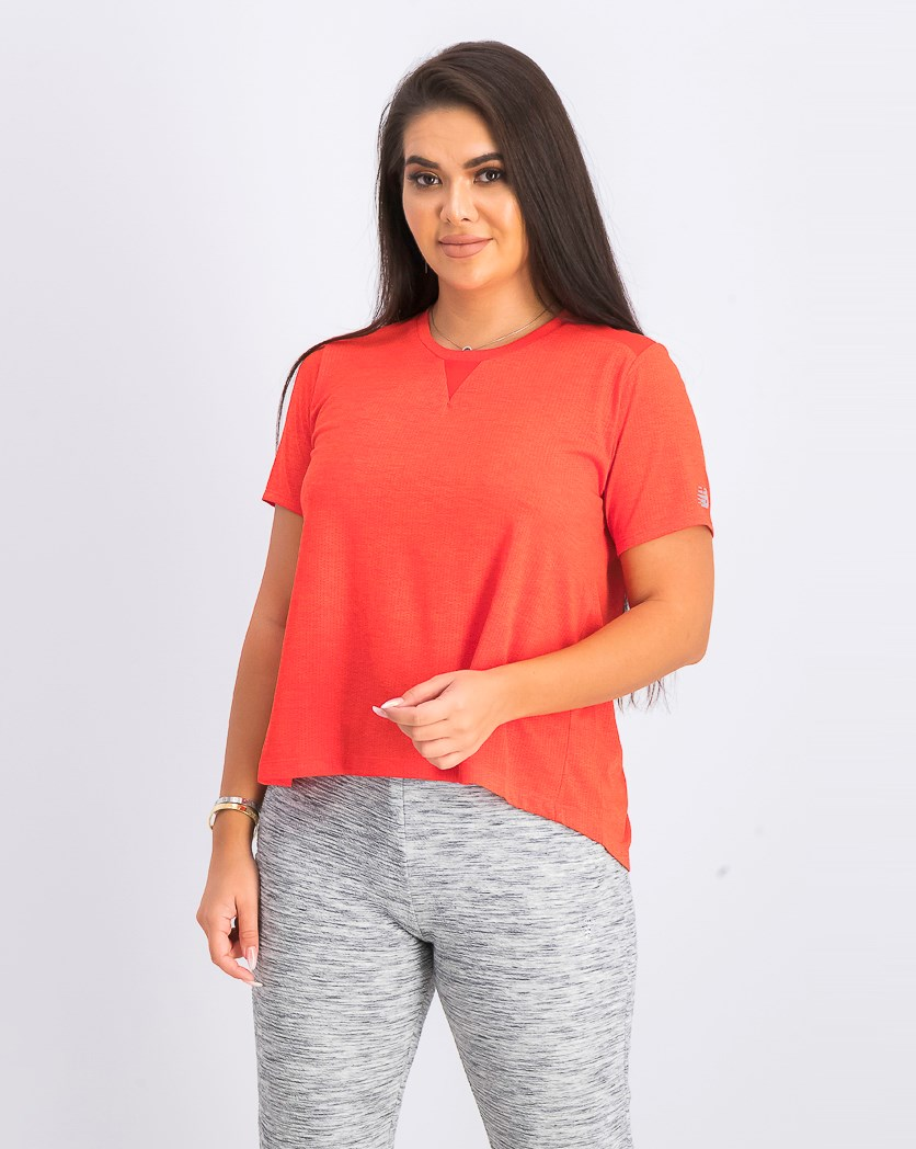 Women's Impact Mesh Shirt, Red