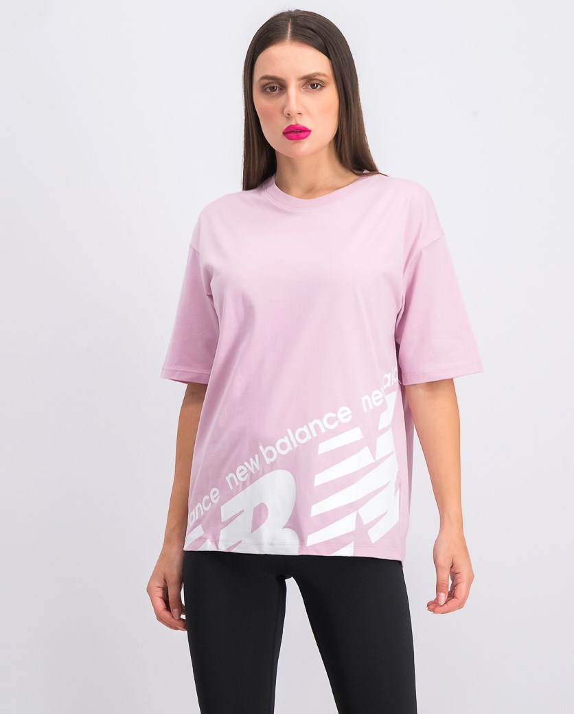 Women's  Athletics Boyfriend Tee, Light Pink