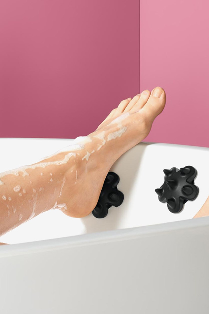 Foot Massage Bath Pads, Black