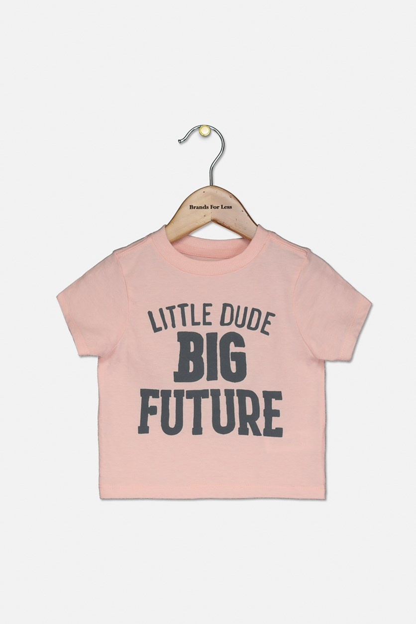 Toddlers Graphic T-shirt, Pink Tinge