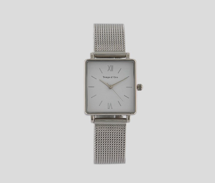 Women's Watch With Milan Strap, Silver