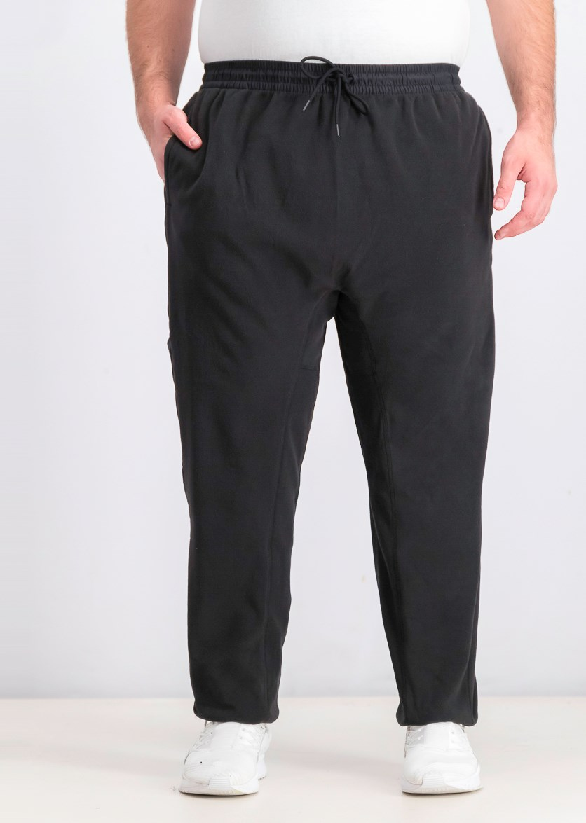 Men's Micro Fleece Sweatpants, Black