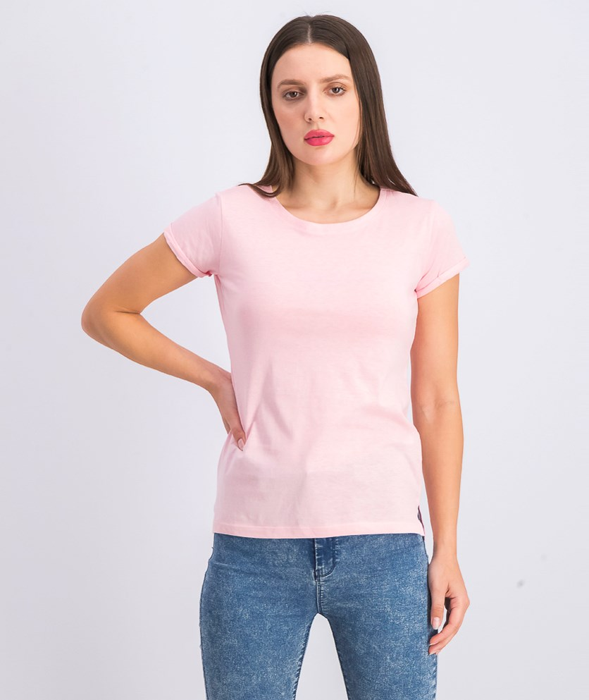Womens Plain Tops, Pink
