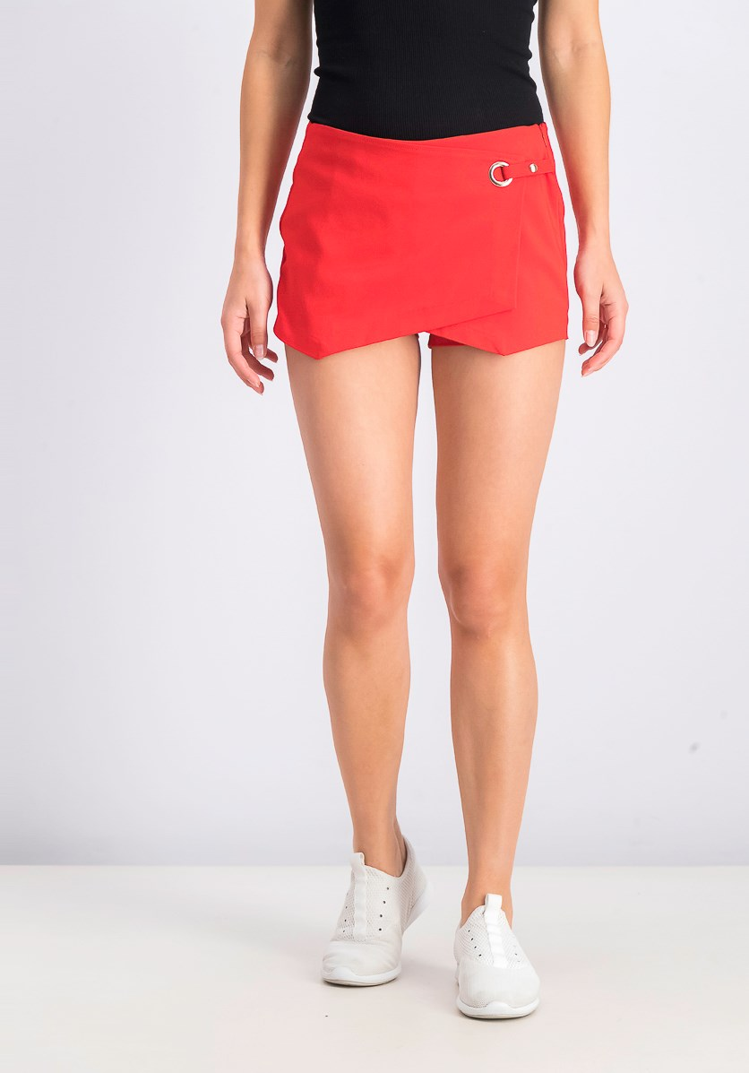 Women's Envelope Short, Red