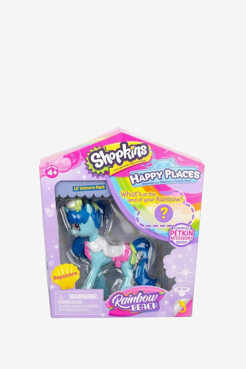 Happy Places Popsicorn Fashion Mini Doll, Blue