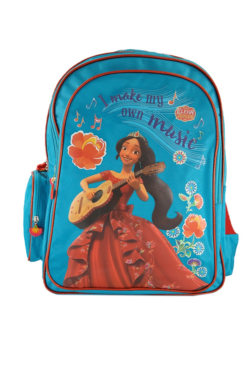 Elena Of Avalor I Make My Own Music Backpack, Blue/Red