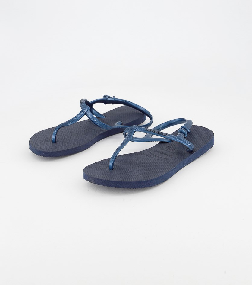 Womens Freedom Sandals, Navy Blue