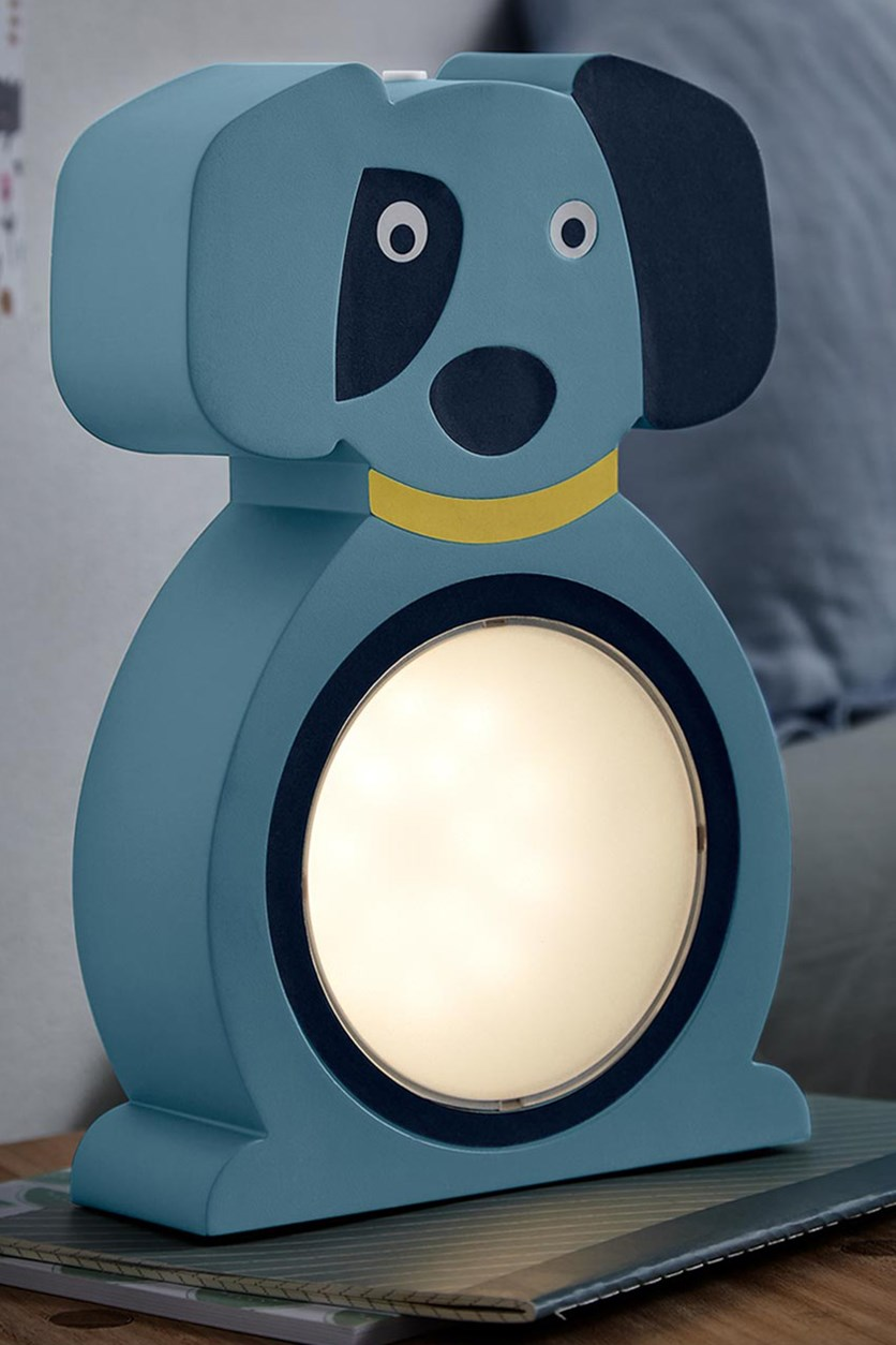 LED Night Light Dog, Blue