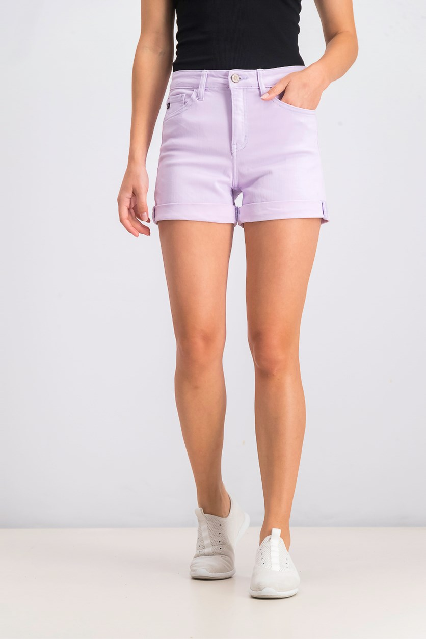 Womens Cuffed Short, Orchid