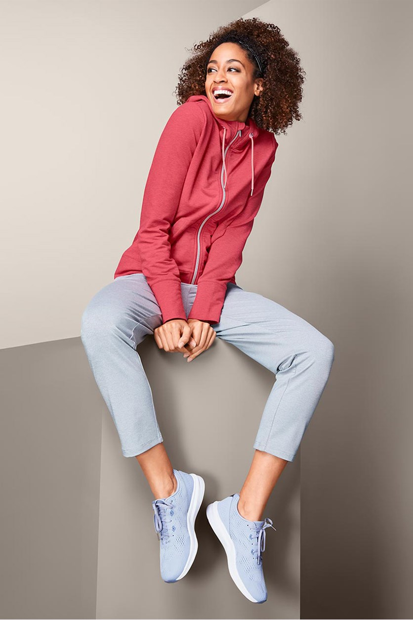 Women's Hooded Sweater, Coral