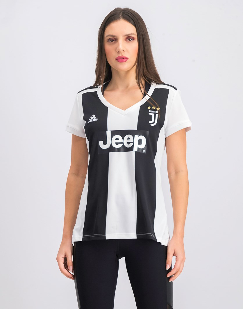 Womens Juventus Home Jersey, Black/White