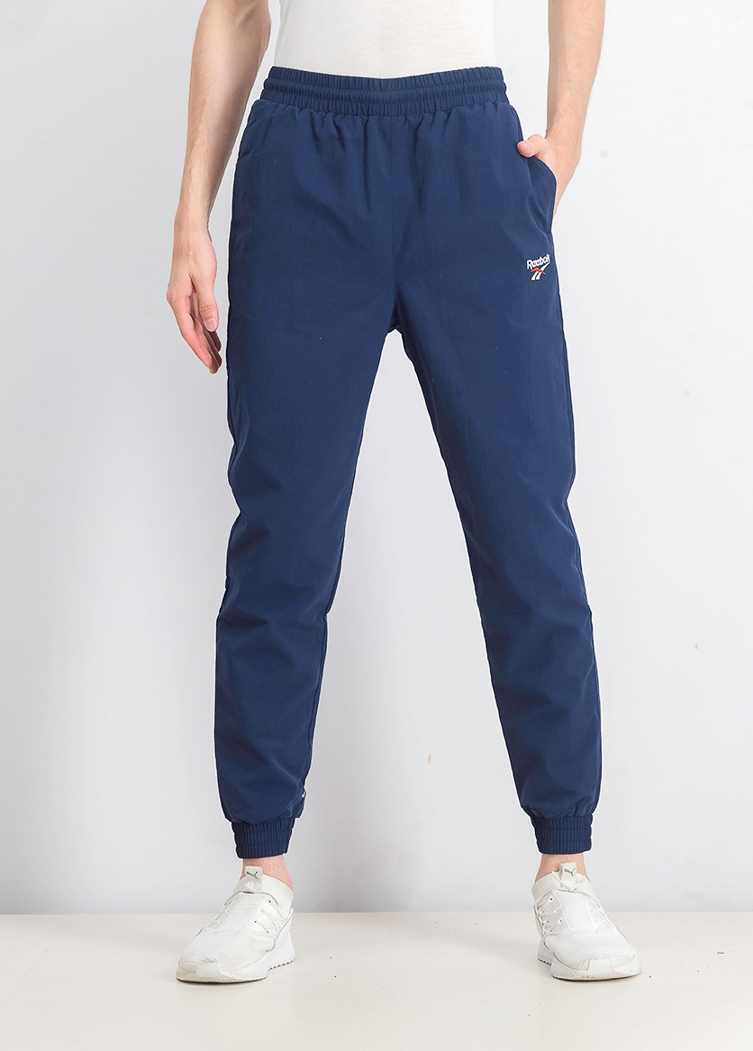 Men's Classic Vector Track Pants, Navy Blue