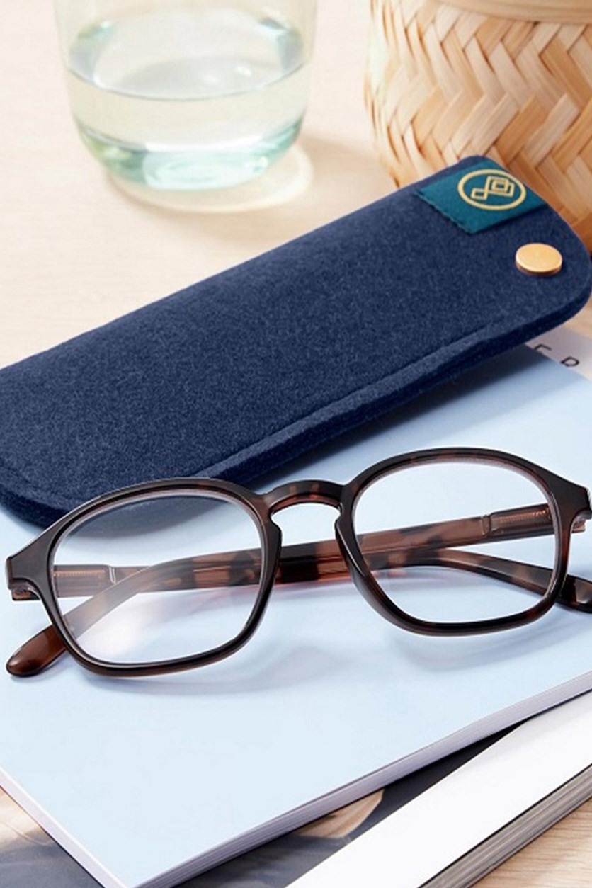 Spare Reading Glasses, Brown