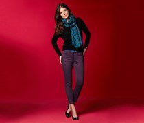 Women's Slim-fit Pants, Amethyst violet