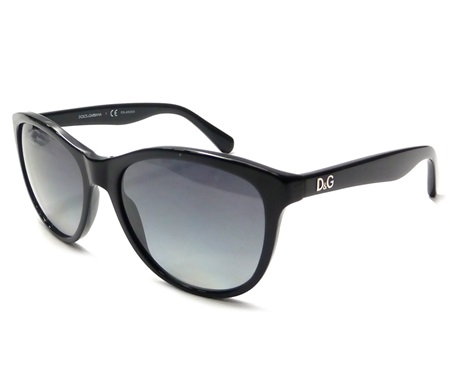 7e5a0380fc17 Shop Dolce   Gabbana Sun glasses D G DD 3091 501 T3 Black Polarized Lenses  Gradation for Accessories in United Arab Emirates - Brands For Less