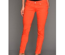 Womens 524 Triple Needle Skinny, Bright Orange