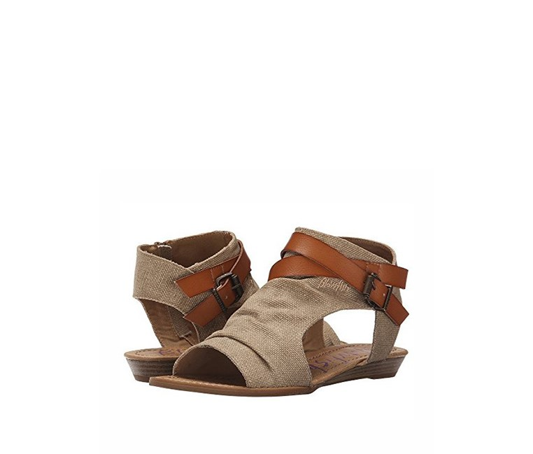 Girls Blowfish Bella Sandals 3, Desert Sand