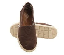 Toms Youth Classic Canvas Shoes, Chocolate